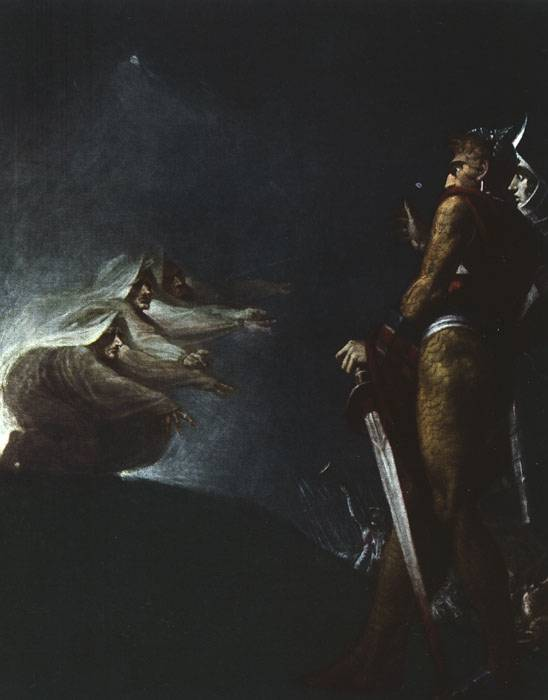fuseli macbeth witches